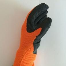 Перчатки акриловые с рифленым латексным покрытием