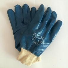 Маслобензостойкие перчатки с хлопчатобумажной подкладкой