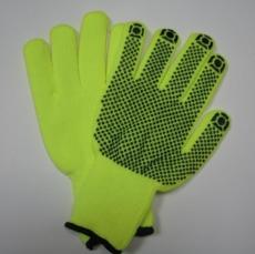 Перчатки акриловые с ПВХ покрытием