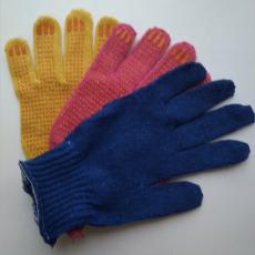 Перчатки ПВХ 5-н цветные, класс вязки 7