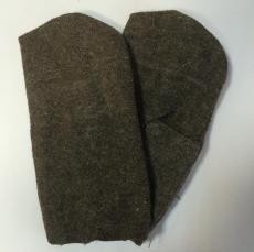 Рукавицы суконные из шинельного сукна